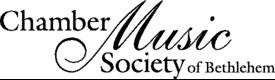 Chamber Music Society of Bethlehem